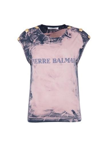Balmain Tişört Somon